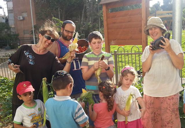 community garden Israel