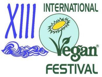 13th International Vegan Festiaval Logo - 2011